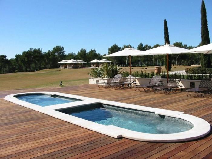 Sport et relaxation avec le spa de nage encastrable - Spa de nage encastrable ...